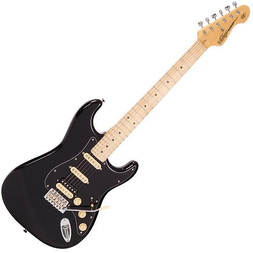 Vintage V6H ReIssued Electric Guitar ~ Boulevard Black