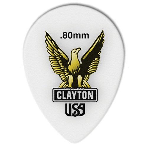 Clayton Acetal Small Teardrop .80mm (72 Pack)