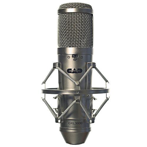CAD GXL 3000 Large Multi-Pattern Condenser Microphone - Satin