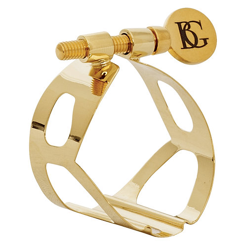 BG Traditional Ligature ~ Tenor Sax ~ Gold Lacquer