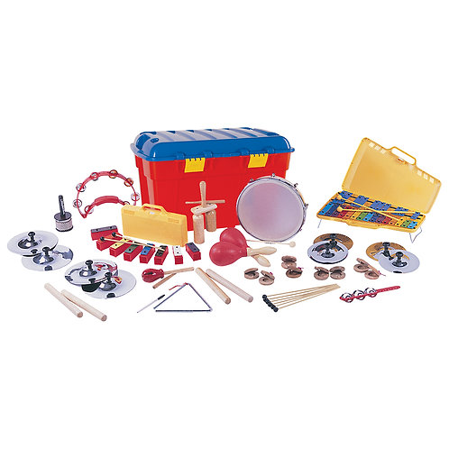 PP World 25 Player Percussion Set ~ Key Stage 2