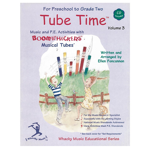 Boomwhackers Tube Time CD � Volume 3