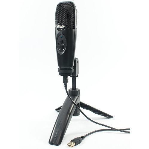 CAD USB Cardioid Condenser Studio Recording Microphone ~ Champagne