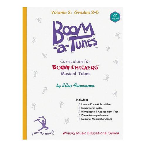 Boomwhacker Boom-A-Tunes CD ~ Volume 2