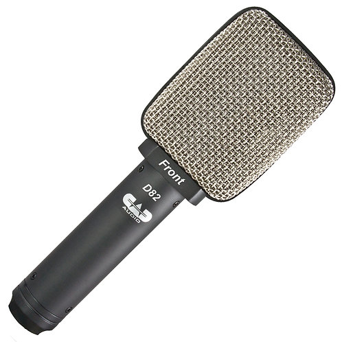CAD Live D82 Side Address Large Ribbon Microphone - Cab/Percussion