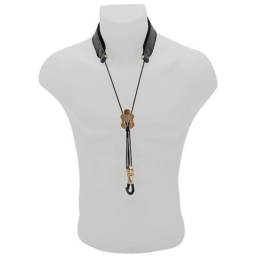 BG Leather Neck Strap ~ Alto Sax ~ Metal Hook ~ Small