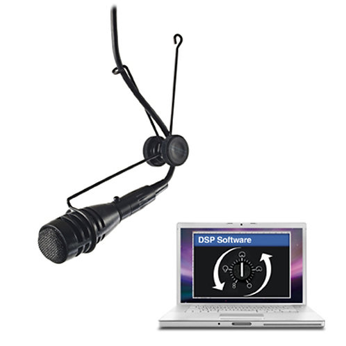 CAD Astatic Variable Polar Pattern Hanging Microphone ~ DSP
