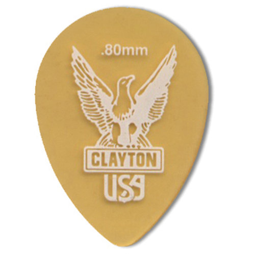 Clayton Ultem Tortoise Small Teardrop .80mm (48 Pack)