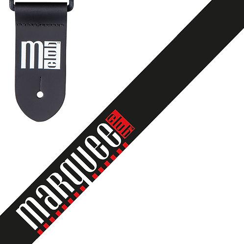 Marquee Club Guitar Strap ~ Classic Black