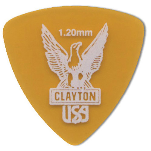 Clayton Ultem Tortoise Rounded Triangle 1.20mm (12 Pack)