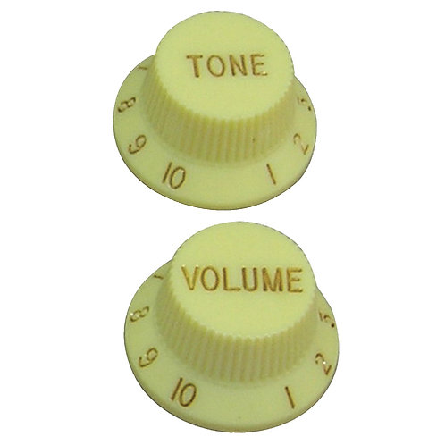 Guitar Tech Control Knobs ~ Cream