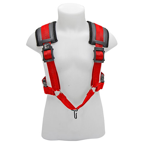 BG A and T Sax Comfort Harness Small ~ Red ~ Metal Hook