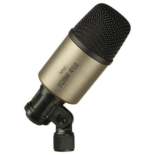 CAD Cardioid Neodymium Dynamic Kick Drum Microphone