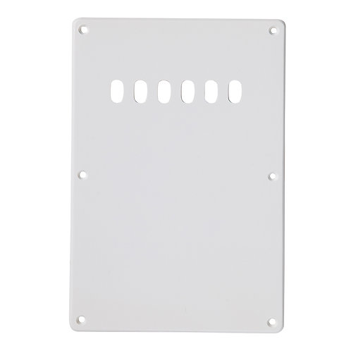 Guitar Tech Backplate Cover ~ White