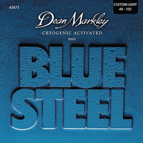 Dean Markley Blue Steel Bass Guitar Strings Custom Light 4 String 46-102