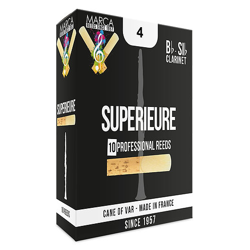 Marca Superieure Reeds - 10 Pack - German Clarinet - 4
