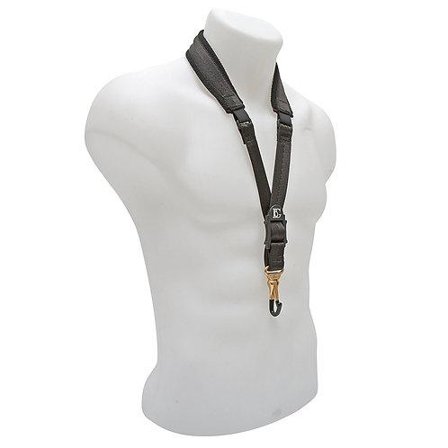 BG Alto & Tenor Sax Comfort Elastic Strap Coated Metal Snap Hook