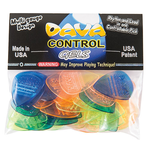 Dava 'Control Gels' Picks � 36 Pack