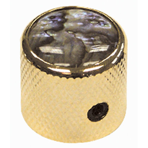 Guitar Tech Control Knobs ~ Gold/Abalone