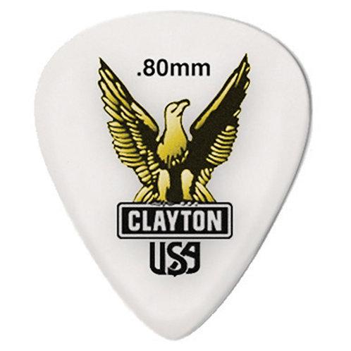 Clayton Acetal Standard .80mm (12 Pack)