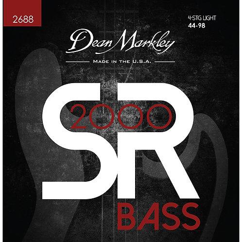 Dean Markley SR2000 High Performance Bass Guitar Strings Light 4 String 44-98