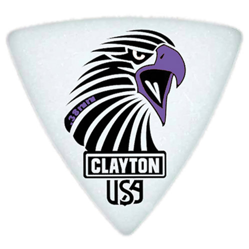 Clayton Acetal Sharp Rounded Triangle .50mm (12 Pack)
