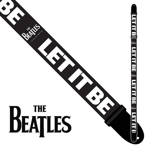 Perri's The Beatles Polyester Guitar Strap ~ Let It Be