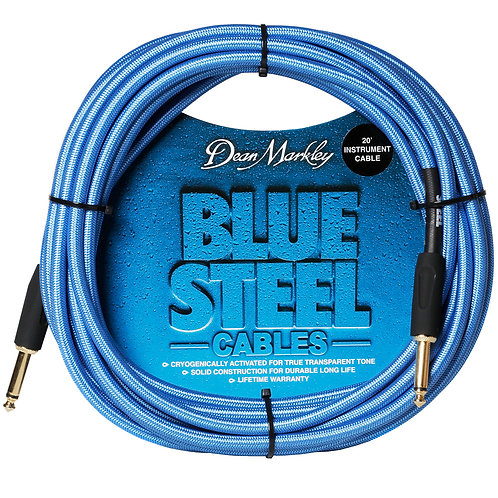 Dean Markley Blue Steel Instrument Cable ~ 20ft