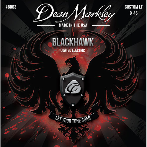 Dean Markley Blackhawk Coated Electric Strings Custom Light 9-46
