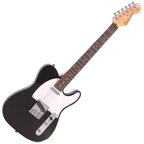 Encore E2 Electric Guitar ~ Gloss Black