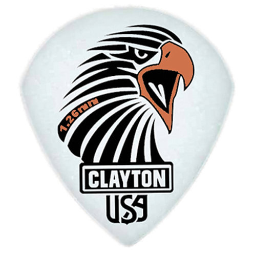 Clayton Acetal Sharp Teardrop 1.26mm (12 Pack)