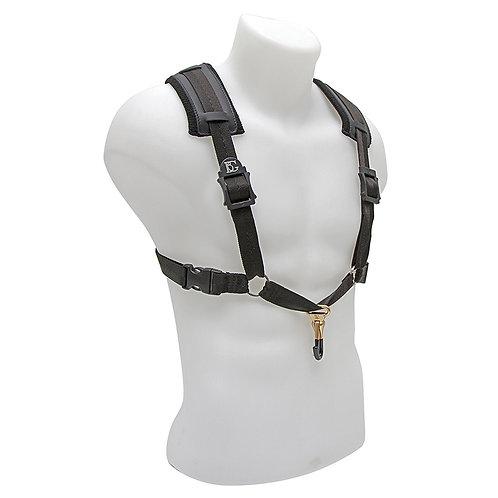 BG Alto and Tenor Saxophone Comfort Harness XL Men Coated Metal Hook