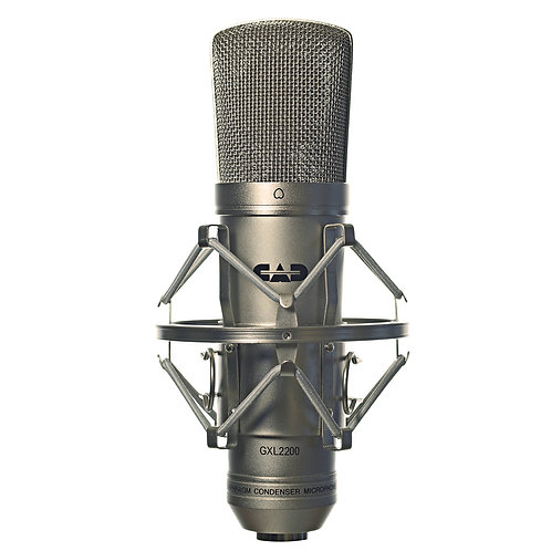 CAD GXL 2200 Large Diaphragm Cardioid Condenser Microphone - Satin