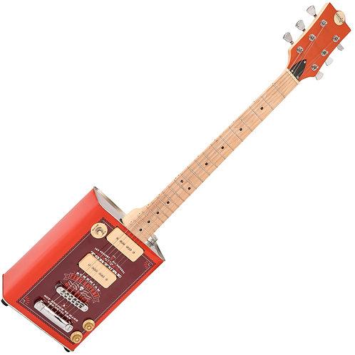 Bohemian Oil Can Guitar ~ 2 P90's ~ Hot Sauce