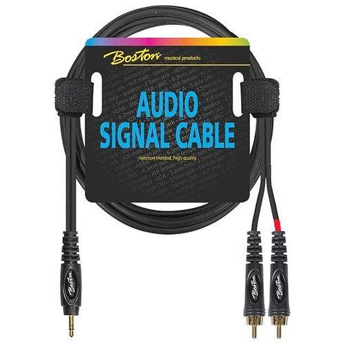 BOSTON MINI JACK - RCA AUDIO CABLE