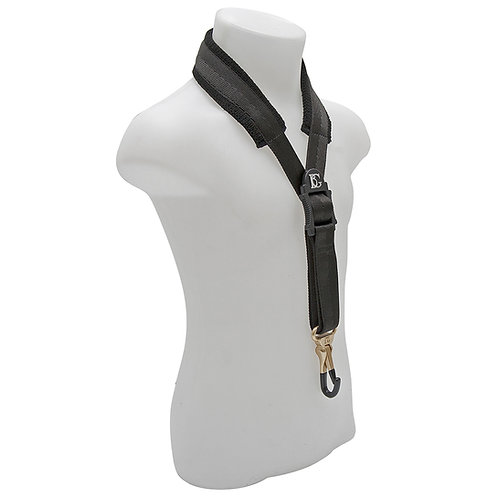 BG Alto Sax Comfort Strap XS Child Coated Metal Snap Hook