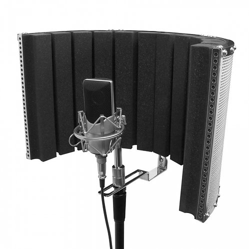 On-Stage Studio Microphone Isolation Shield