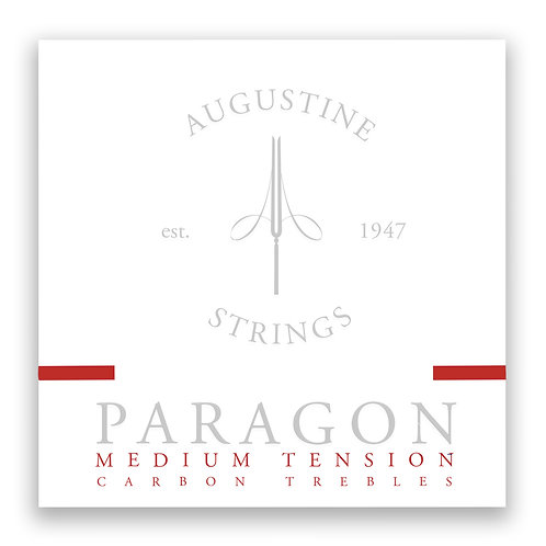 Augustine Paragon Medium Tension Carbon Trebles