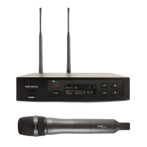 CADLive 4000 Series Digital Wireless Microphone System