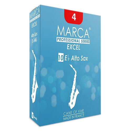 Marca Excel Reeds - 10 Pack - Alto Sax - 4