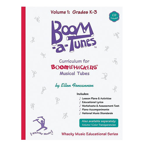 Boomwhackers Boom-A-Tunes CD ~ Volume 1