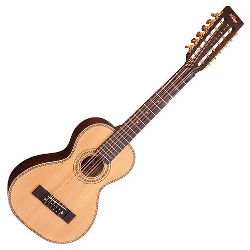 Vintage 'Viator' Paul Brett 12-String Electro-Acoustic Travel Guitar ~ Natural