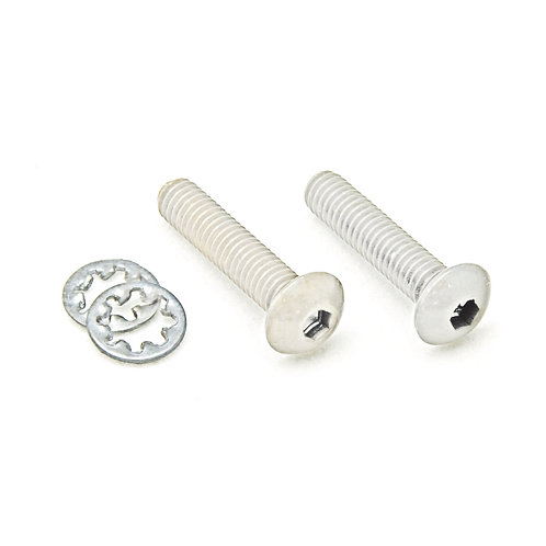 Floyd Rose Original Nut Mounting Screws (Rear) ~ Chrome