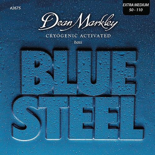 Dean Markley Blue Steel Bass Guitar Strings Extra Medium 4 String 50-110