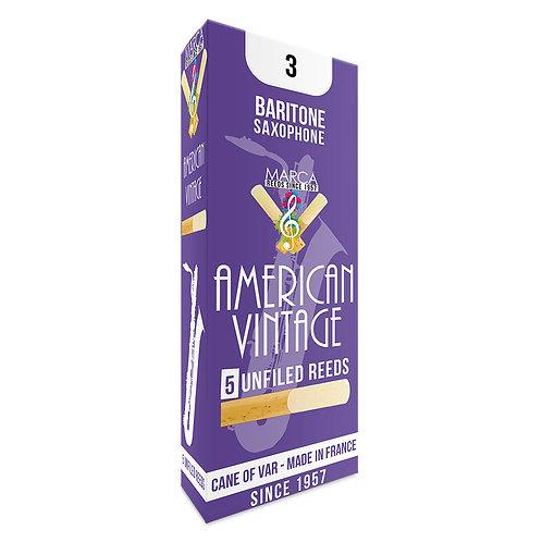 Marca American Vintage Reeds - 5 pack - Baritone� Sax - 3