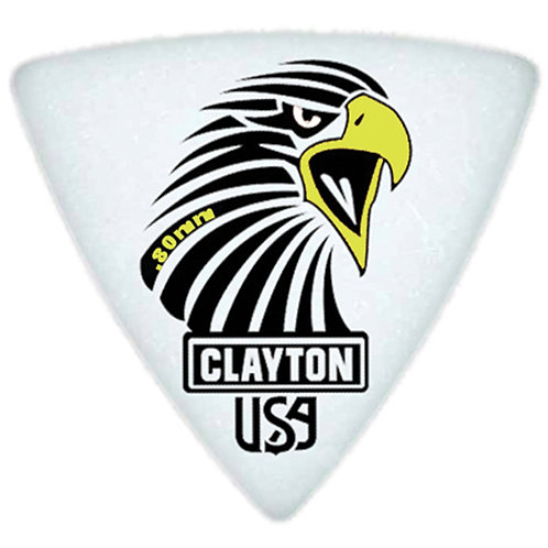 Clayton Acetal Sharp Rounded Triangle .80mm (12 Pack)