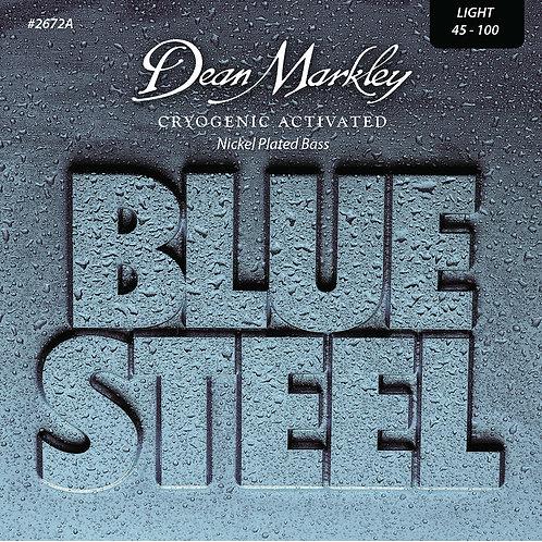 Dean Markley Blue Steel NPS Bass Guitar Strings Light 4 String 45-100