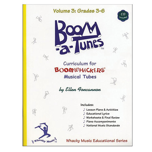 Boomwhackers Boom-A-Tunes CD ~ Volume 3