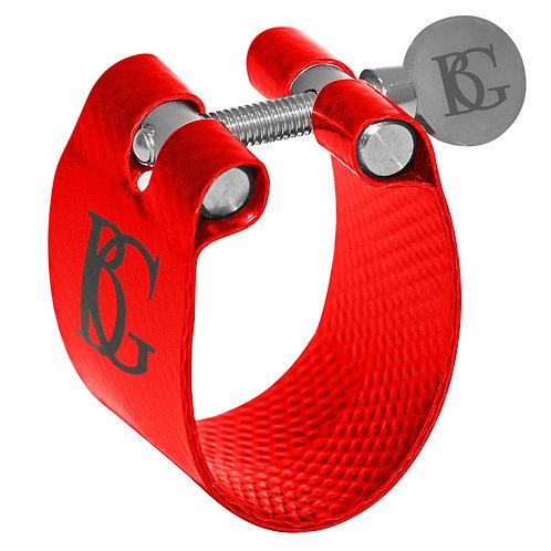 BG Flex Fabric Ligature ~ Clarinet ~ Red