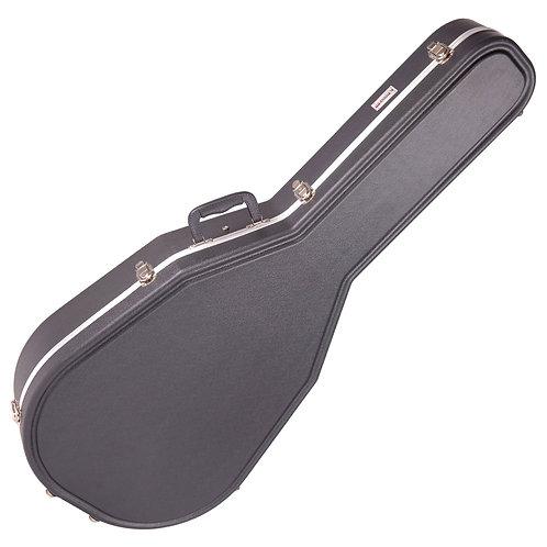 Kinsman Premium ABS Case ~ Mid/Shallow Roundback Guitar